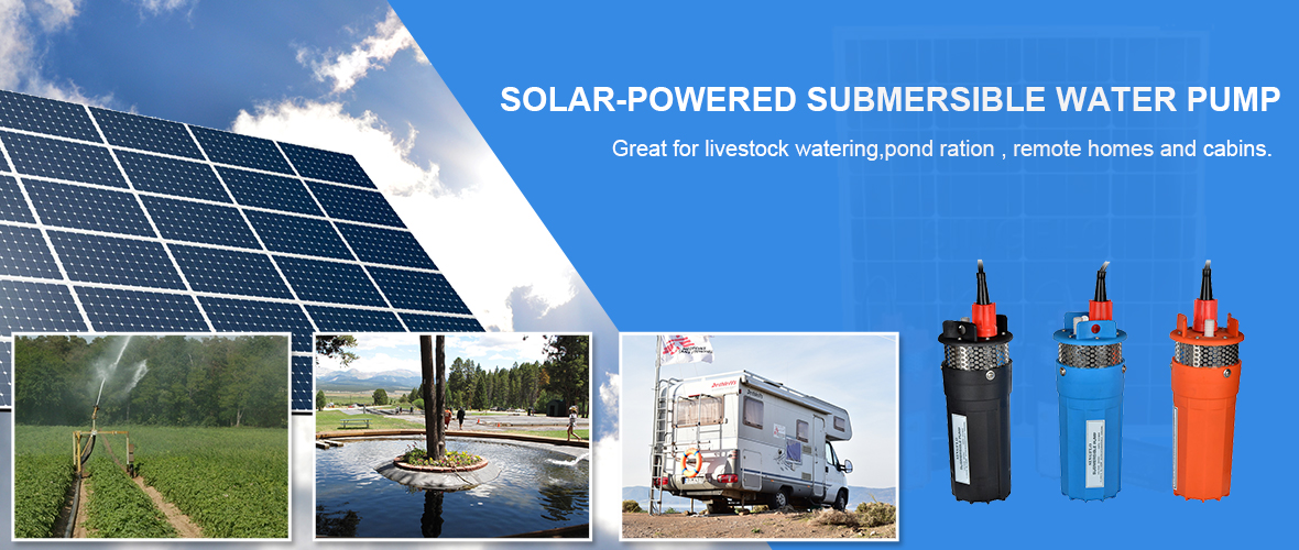 solar Powered submersible Pump